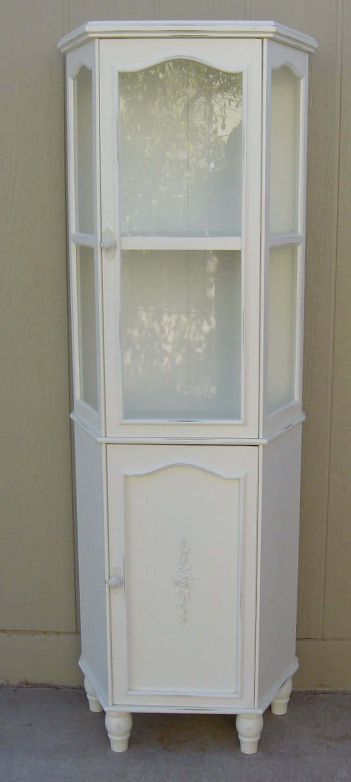 the backyard boutique by five to nine furnishings shabby chic curio cabinet bookcase