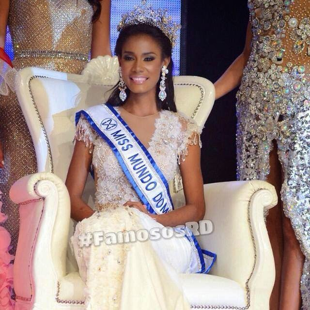 Miss Mundo Republica Dominicana World Dominican Republic 2014 Dhio Angelica Moreno Santos