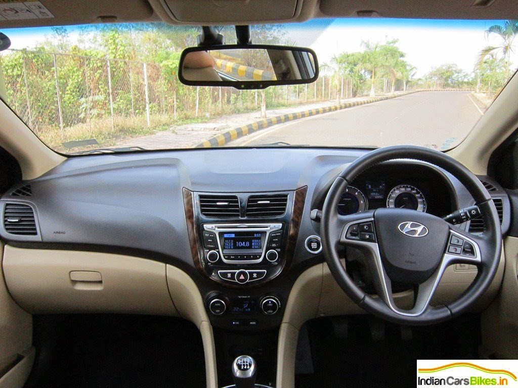 Tons Of Features On The Verna Are Available Such As Start Stop Button Backlit Brightness Control Switch Rear View Camera With Display ECM