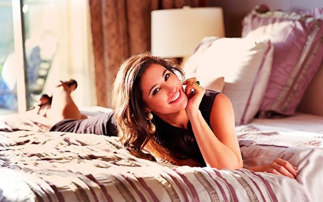 Nargis Fakhri Shoots for Castel Royale Ad Campaign