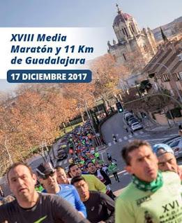 17 Diciembre. Media Maratón de Guadalajara