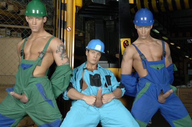Gay blue collar workers
