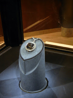 The Hope Diamond in the Natural History Museum