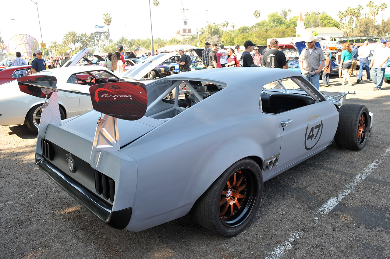 1969 Mustang American Iron race