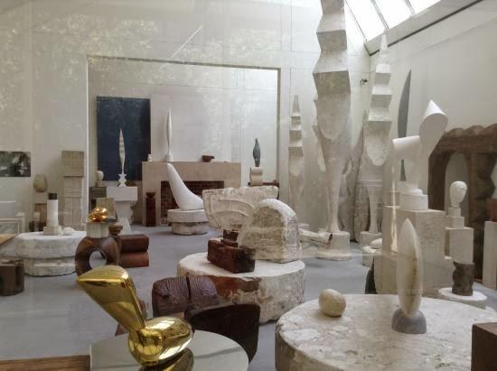 Atelier Brancusi. Pompidou (París)