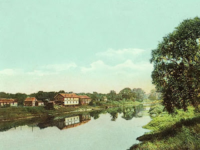 Peru, Indiana and the Wabash River, 1910.