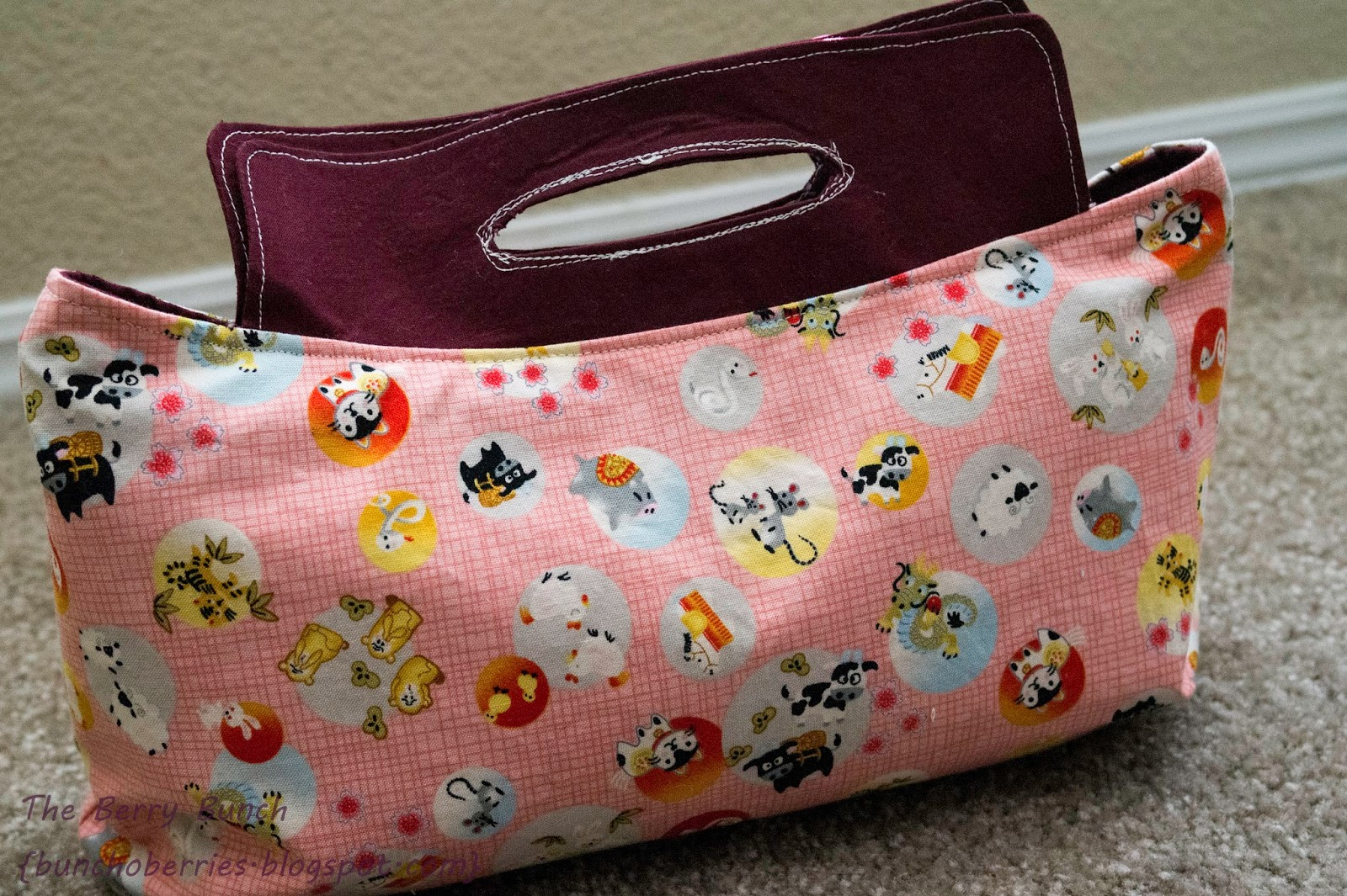 The Berry Bunch: Coraline Clutch Pattern Review {Swoon Patterns}