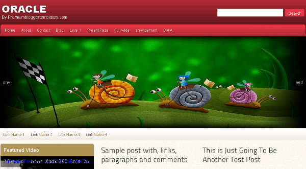 16 Best Free Blogger Templates Featuring Amazing JQuery Featured Slideshows