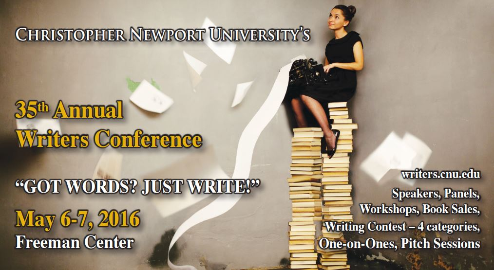 CNU 35th Annual Writers Conference (May 6th & 7th)