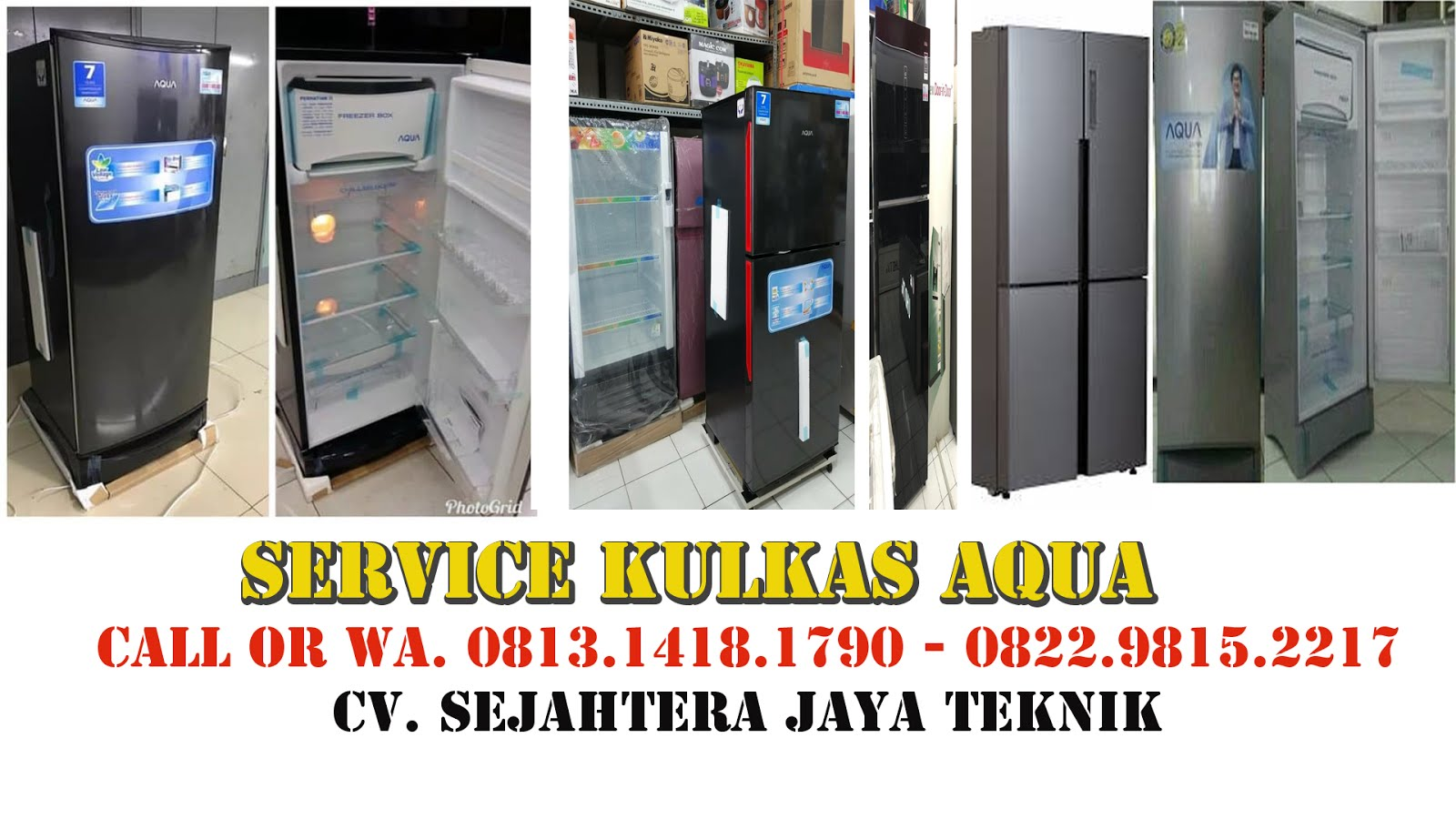 Service Kulkas Aqua di Jakarta Pusat