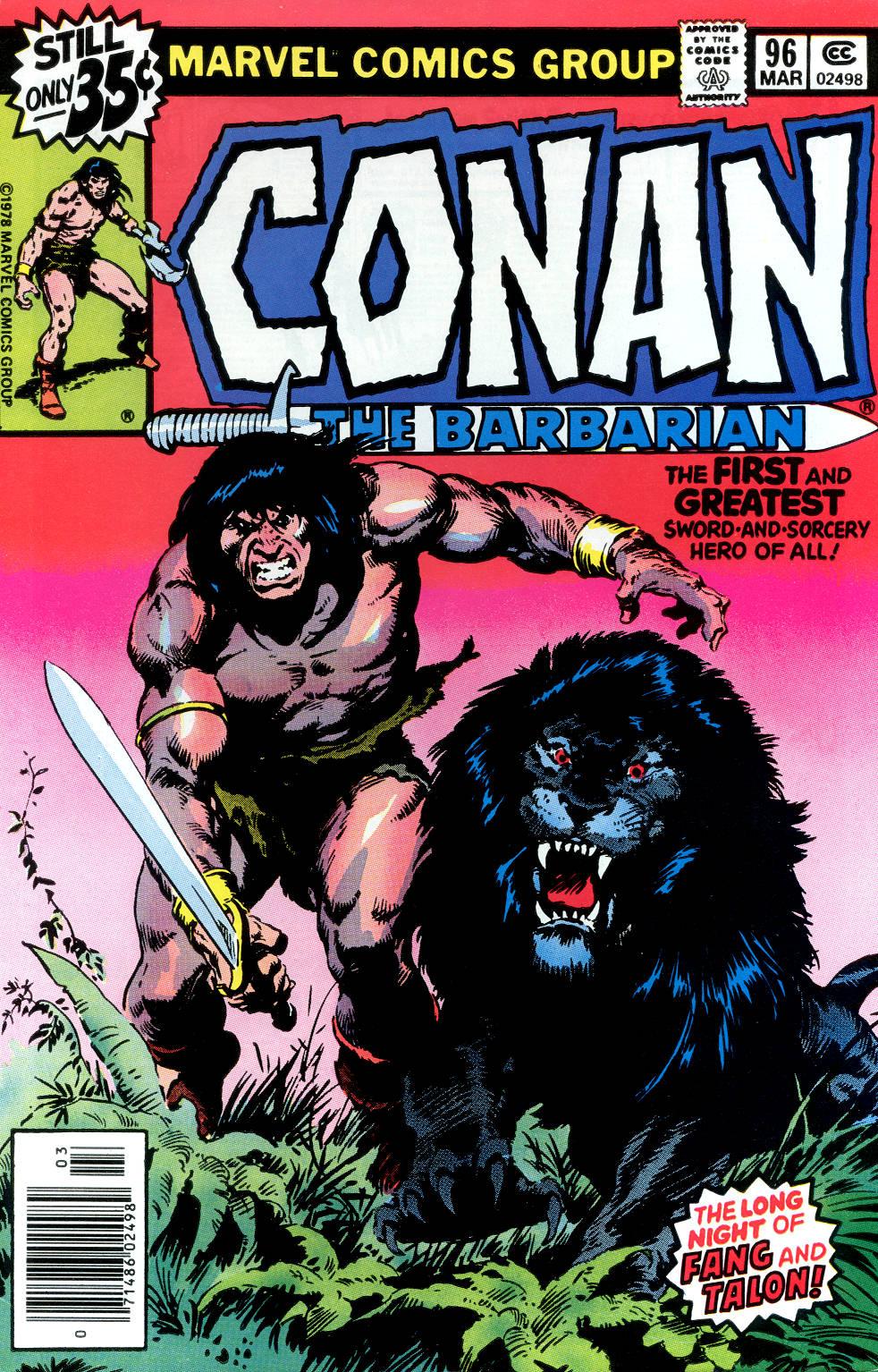 Conan the Barbarian (1970) Issue #96 #108 - English 1