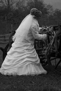 Wedding photography alb negru cu mireasa