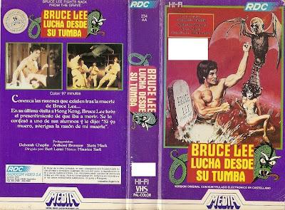 Bruce Lee lucha desde la tumba | Caratula | Cine clásico