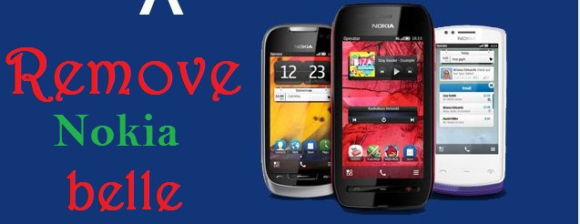 Remove Nokia Belle