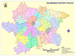 KALABURAGI DISTRICT MAP