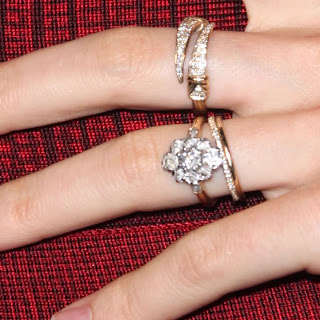 always the bridesmaid engagement rings style