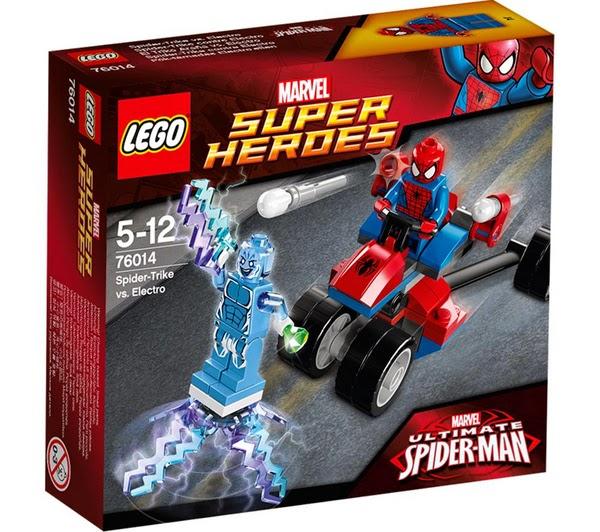 LEGO Ref. 76014 El Trike Araña vs. Electro™