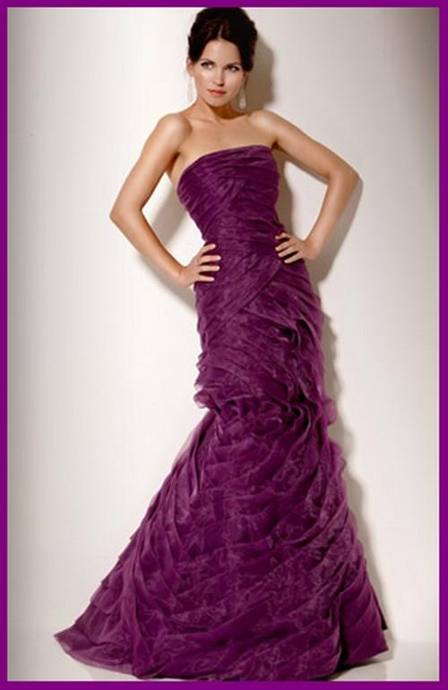 ZM Fashions Club: Evening Purple Prom Dresses