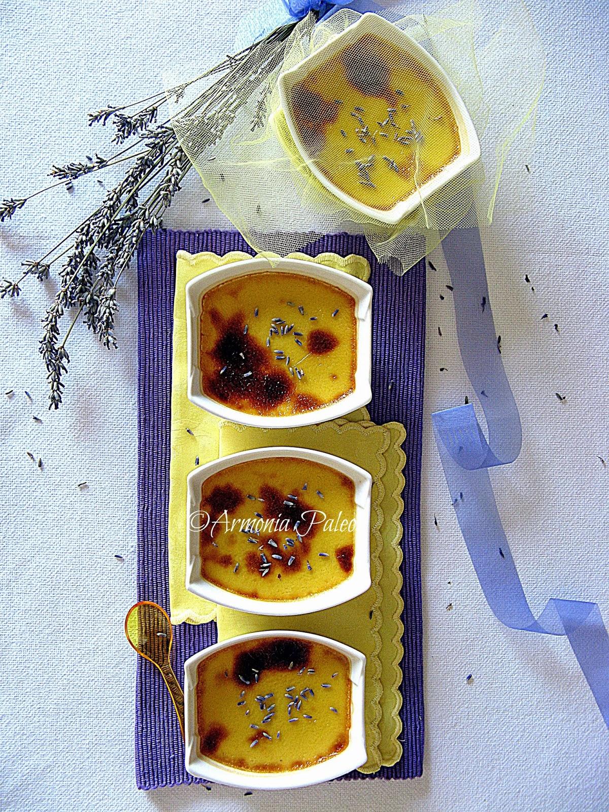 Crème Brûlée alla Lavanda di Armonia Paleo