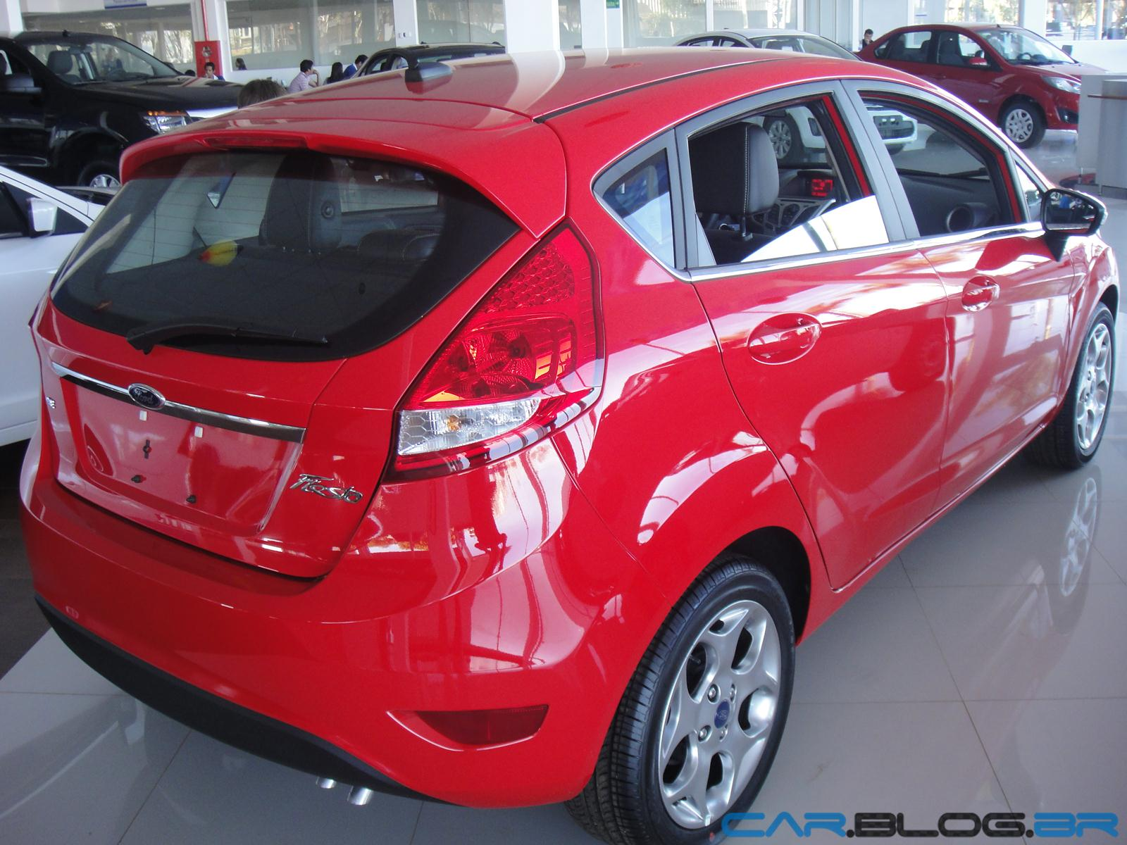 estilo do Ford New Fiesta Hatch é, para o segmento dos hatchs o que