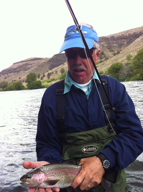 River borne outfitters blog fishing reports deschutes for Oregon fishing report