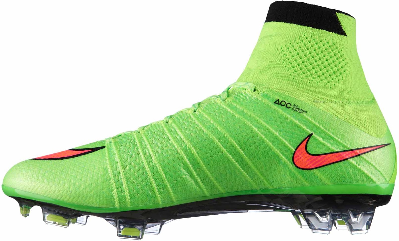 Green Nike Mercurial Superfly IV Cristiano