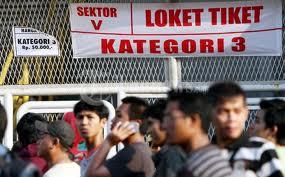 Harga Tiket Sepakbola Timnas Indonesia vs Timor Leste