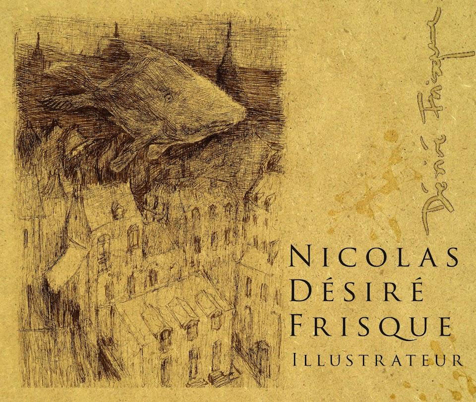 Nicolas Désiré Frisque Illustrateur