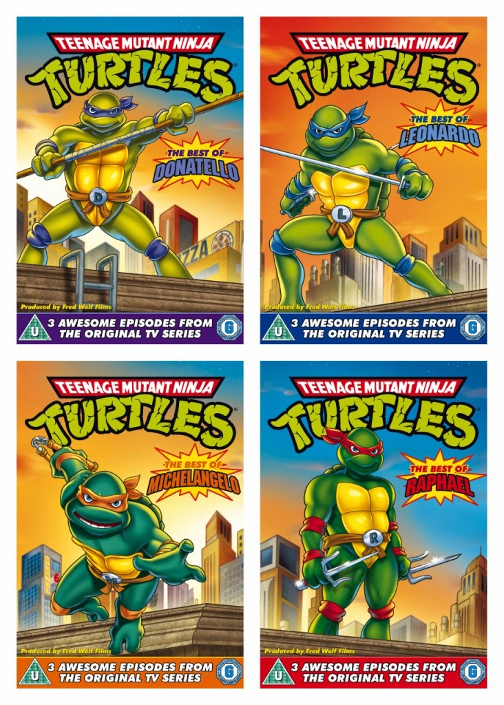 Teenage Mutant Ninja Turtles Best Of Original TV Series DVD Pack Shot
