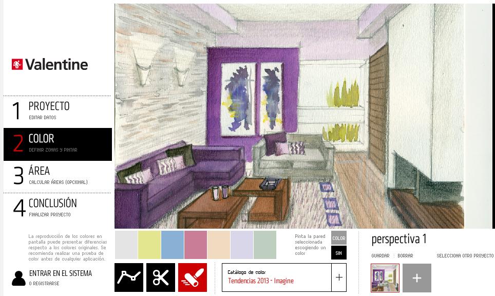 Dibujo Perspectiva Y Color Simulador Valentine