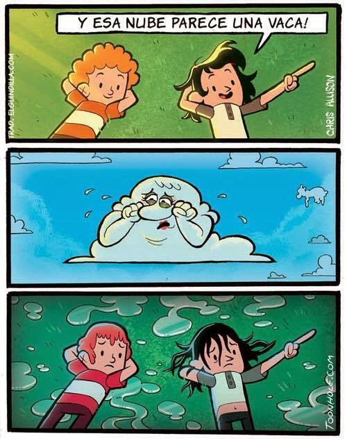 nubes de sentimientos