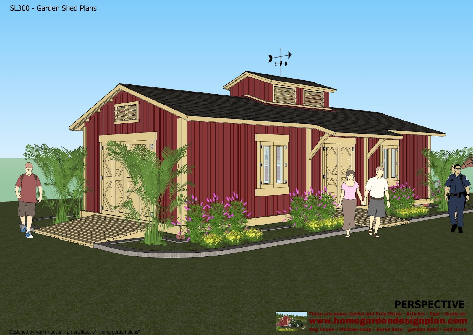 Plans for sheds outdoor storage sheds in collection for Shed design plans