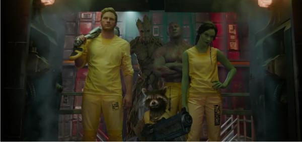 Ação embalada no segundo trailer completo de Guardiões da Galáxia, com Vin Diesel, Bradley Cooper e Zoe Saldana