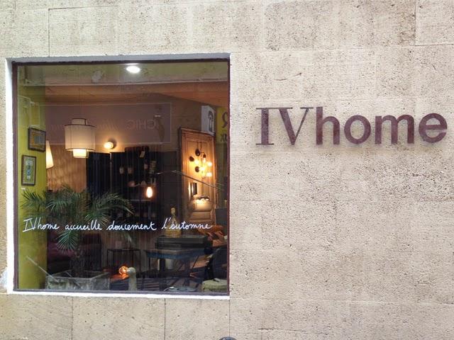 Boutique déco IVhome  - Blog shopping deco Aix en Provence