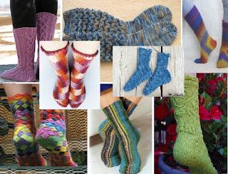 Носочный год.. или пара носков в месяц!!