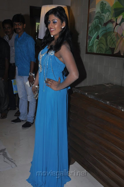 Tamil Actress Iniya Hot Images in Bluse Sleeveless Dress