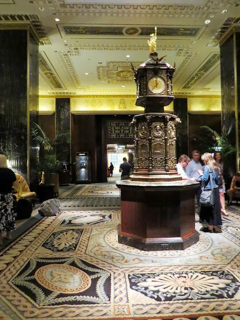 The Waldorf Astoria Lobby
