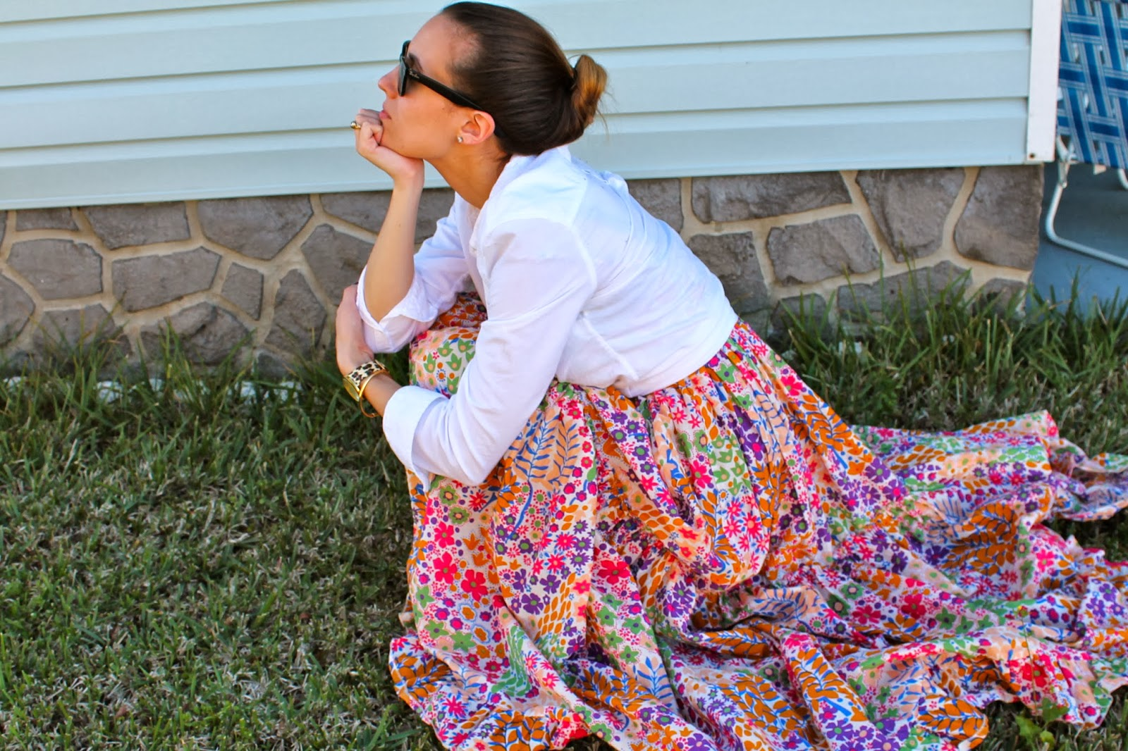 Ray-Ban, Modcloth, Target, Gap, Kate Spade, maxi dress, floral, leopard, elegant, feminine, preppy, southern, miami blogger, fashion blog, ootd, what i wore, look book, street style