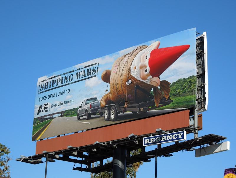 Shipping Wars TV billboard