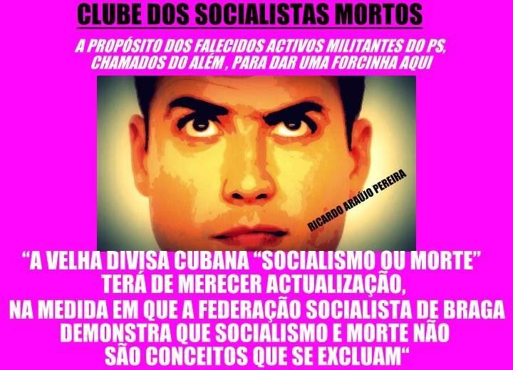 clube dos socialistas mortos visão ricardo araujo