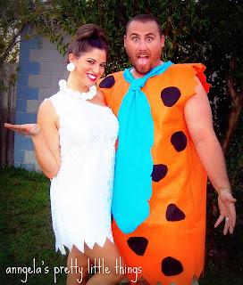 Fantasia Criativa de Fred e Vilma, dos Flintstones