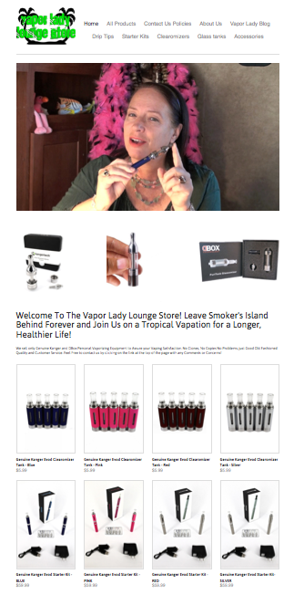 Our New Vaping Supply Store Has Opened! Click on the Picture Below To See What's New!