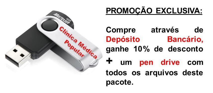 CLÍNICA MÉDICA POPULAR VERSÃO EM PEN DRIVE