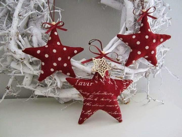 Estrellas para decorar la navidad