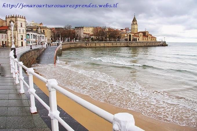 Asturias central gij n asturias playa de san lorenzo - Fotos sporting de gijon ...