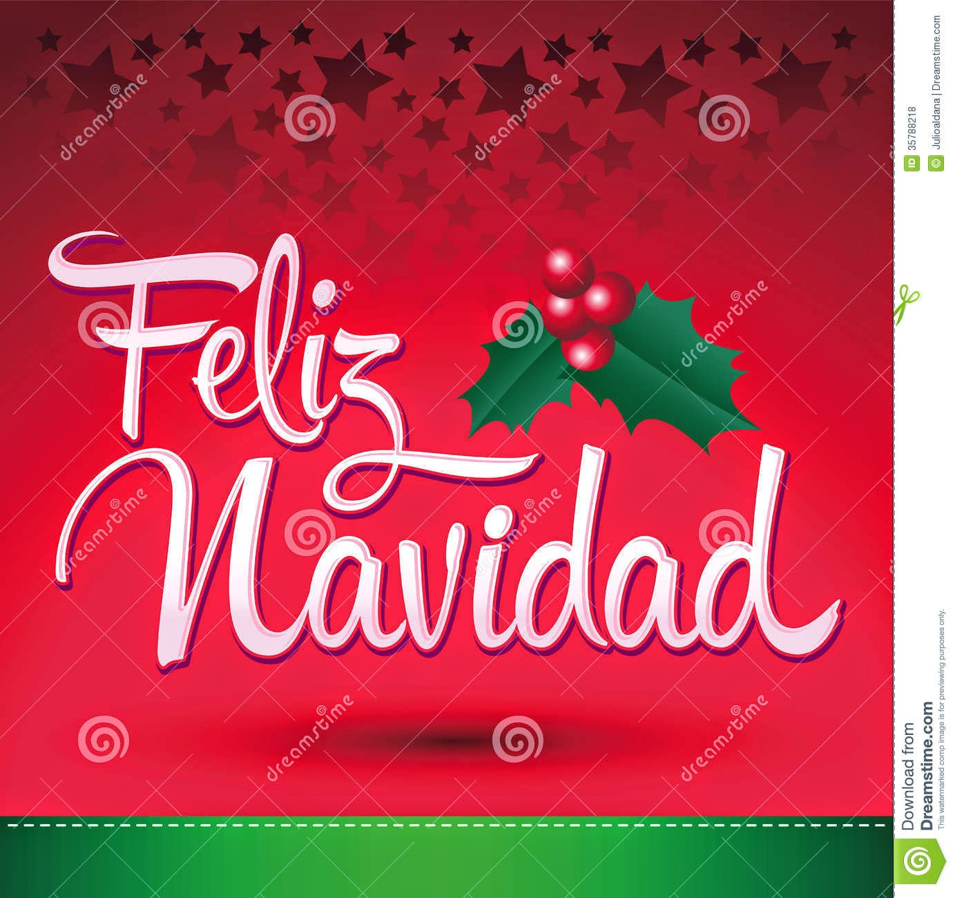 Merry Christmas In Spanish Cards