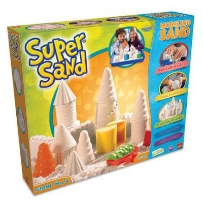 JUGUETES - SUPER SAND Giant Gigante | Juego de Arena | Manualidades  Producto Oficial | Goliath 83221 | A partir de 4 años Comprar en Amazon