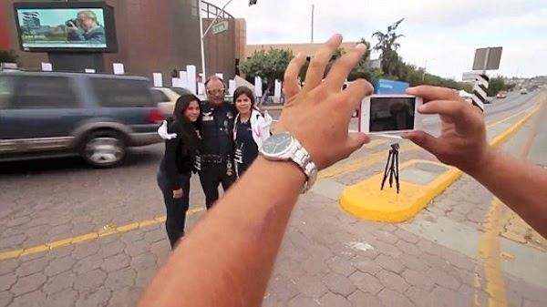 فيديو ضابط شرطة ينظم حركة المرور بالرقص, ضابط شرطة يرقص للسائقين في المكسيك, ضابط شرطة يرقص,