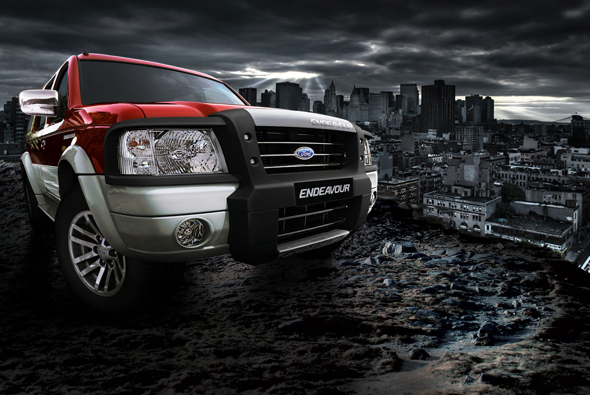 THE ROYAL CARS  Ford Endeavour