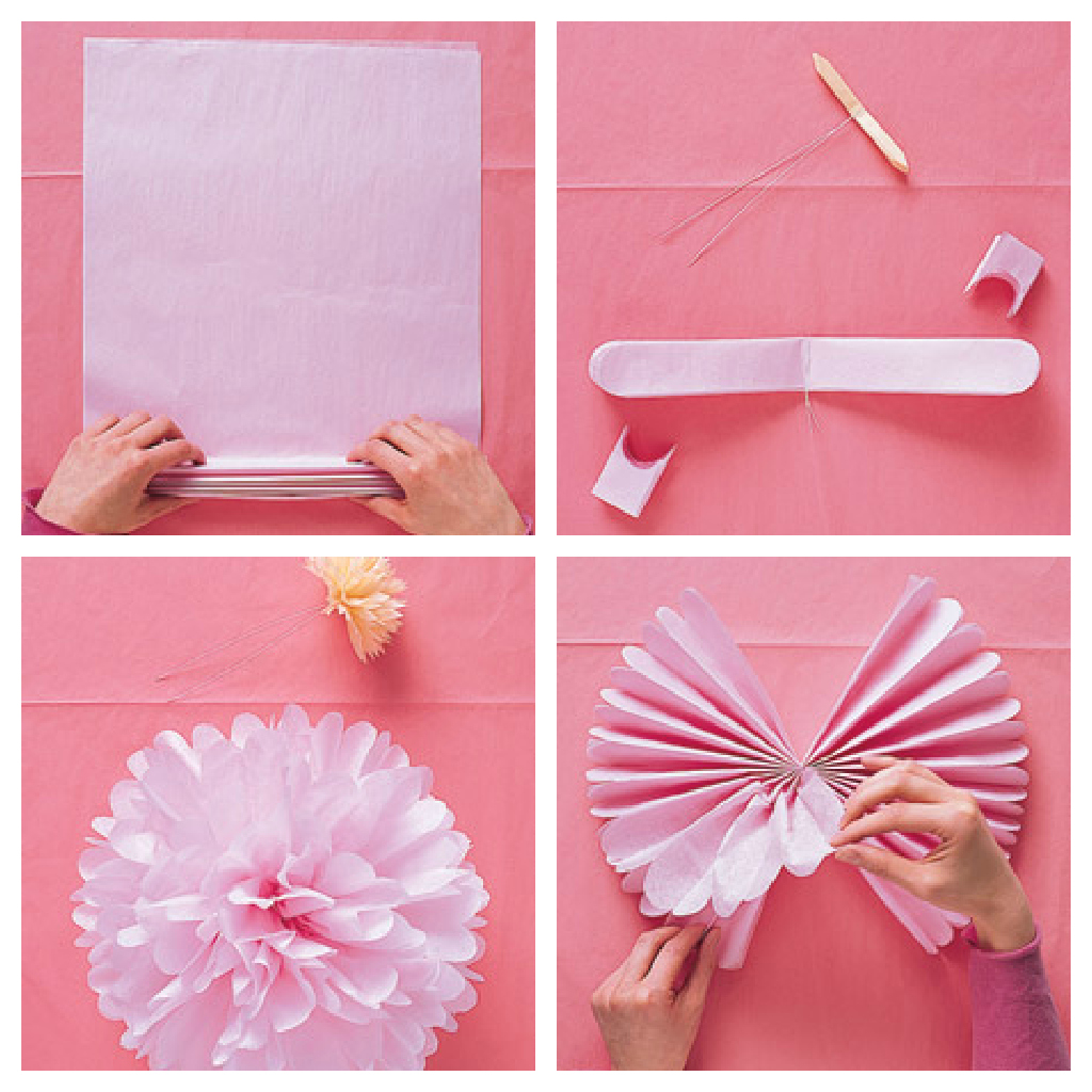 Como hacer rosas de papel de seda paso a paso imagui for Rosas chinas
